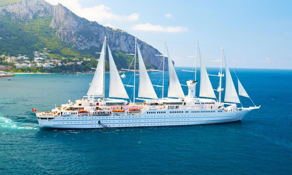 Gina Baksa Boards the Largest Yacht in the World for a Rome to Venice Cruise with Windstar