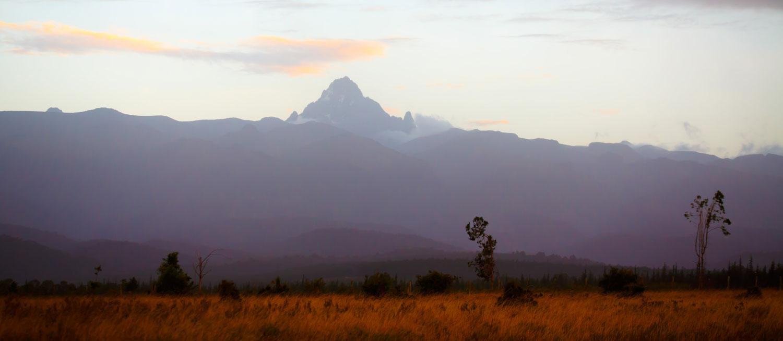 Views toward Mount Saint Kenya