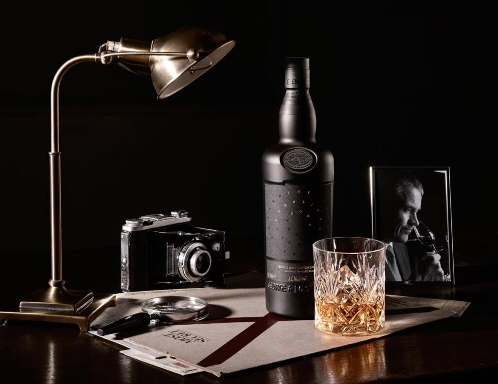 The Glenlivet Code Whisky is presented in a stylish and opaque black bottle