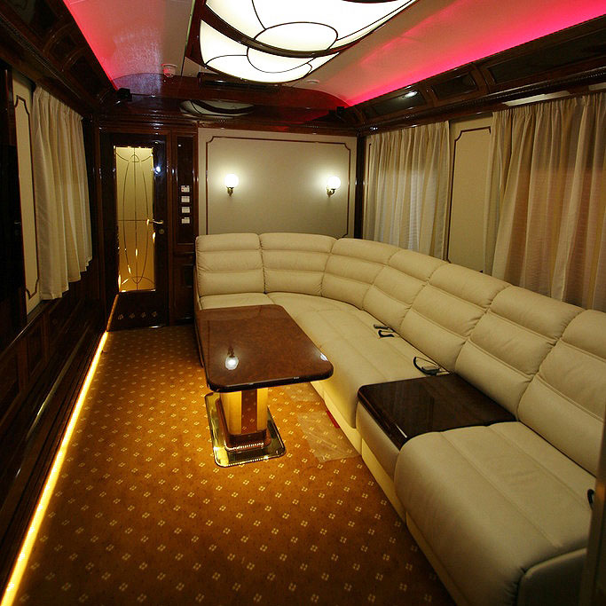 The Romanov Suite - An Entire Private Carriage Aboard the Golden Eagle Train 7