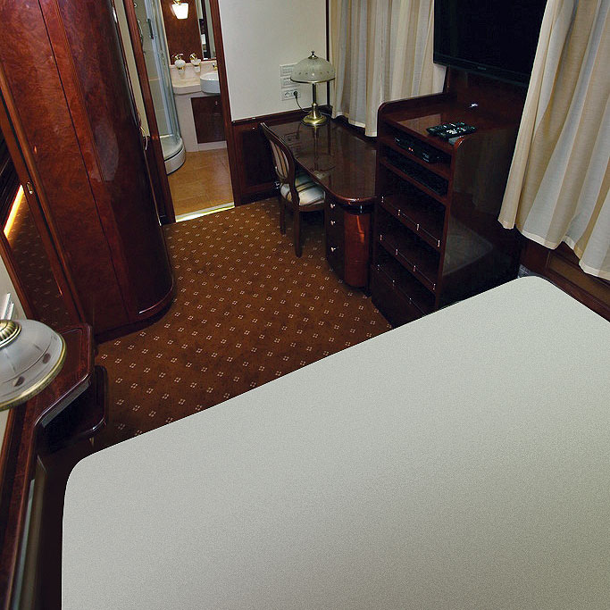 The Romanov Suite - An Entire Private Carriage Aboard the Golden Eagle Train 9