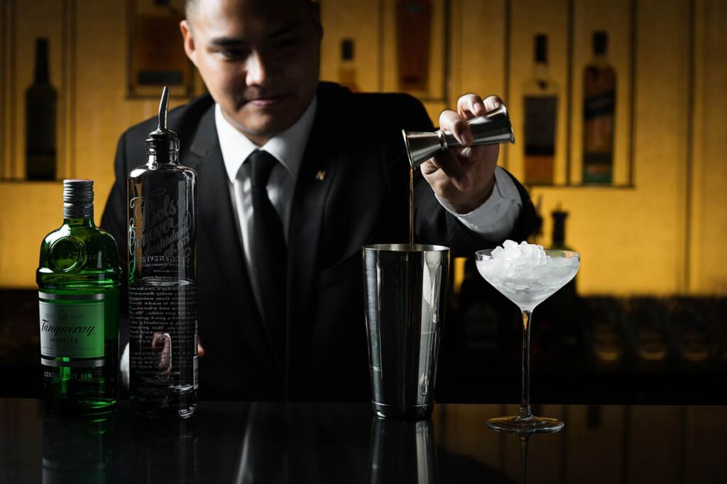Murray Lane - Mixologist Kervin Unido