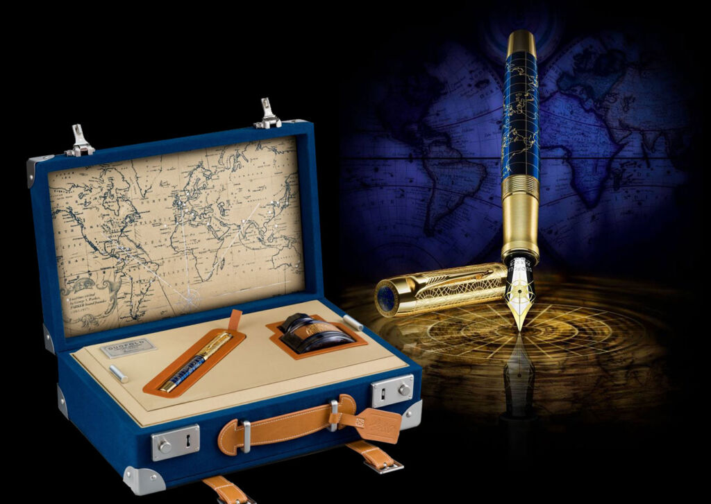 Parker Duofold The Craft of Travelling Limited Edition Fountain Pen
