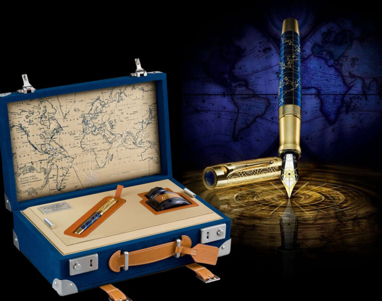Parker Duofold The Craft of Travelling Limited Edition Fountain Pen 29