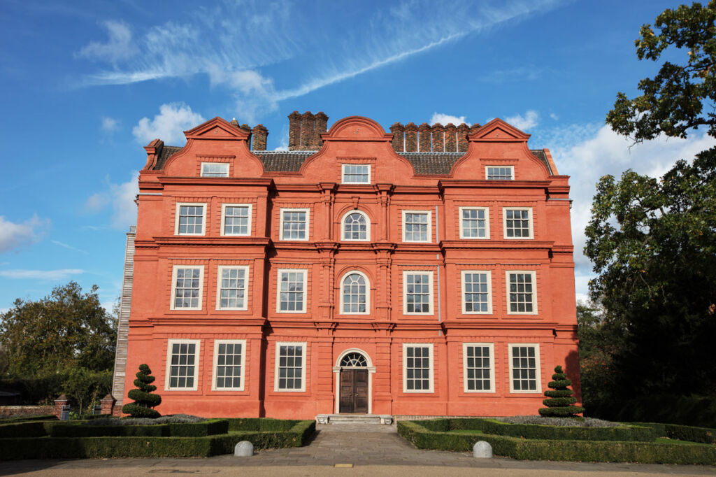 The stunning exterior of Kew Palace
