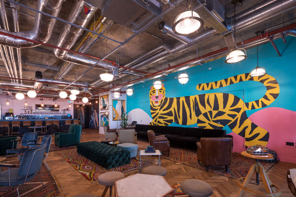 Co-working spaces have grown in popularity over the years