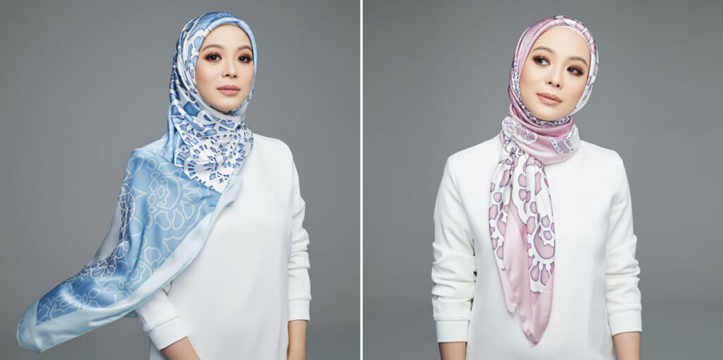 Vivy Yusof's New Limited Edition Scarf Collection