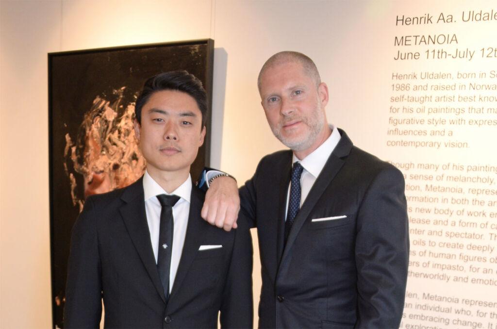 Henrik Uldalen [L] and Jean-David Malat [R]