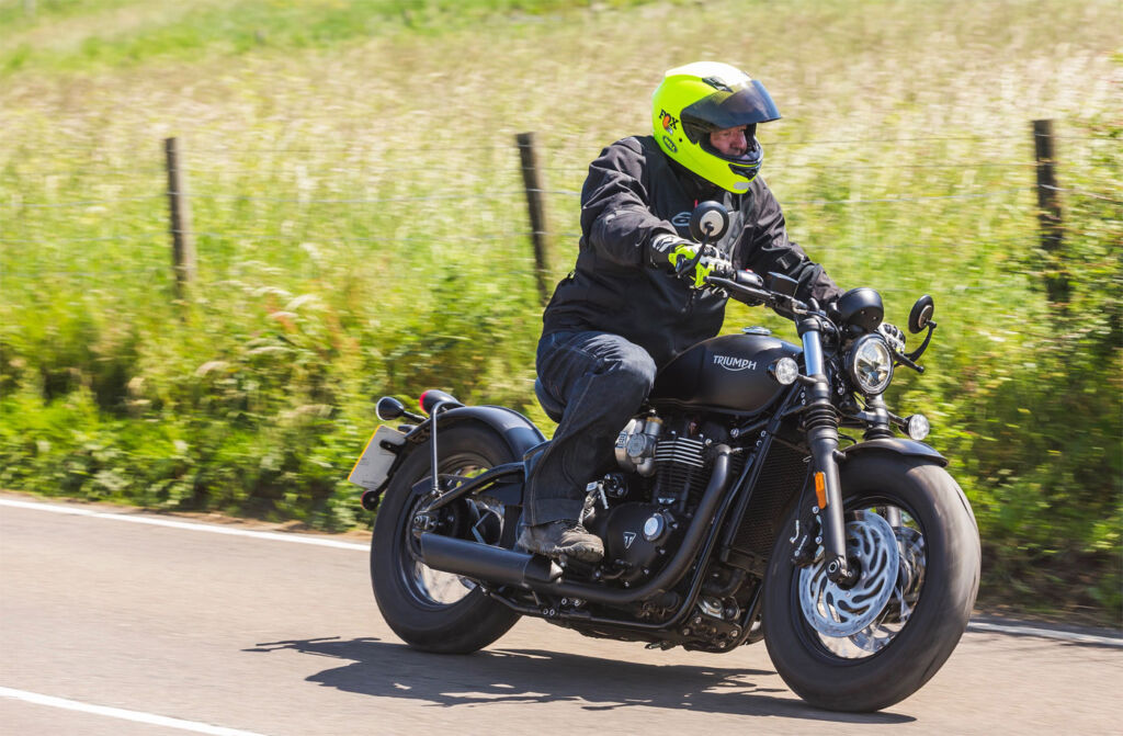 Bobbing Down To Goodwood Courtesy Of Triumph Motorcycles 4