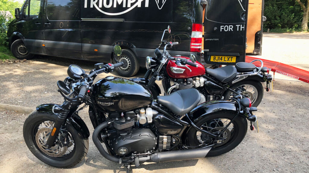 Bobbing Down To Goodwood Courtesy Of Triumph Motorcycles 6