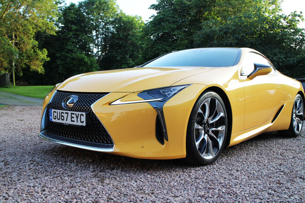 Luxurious Magazine Road Test: The Lexus LC500