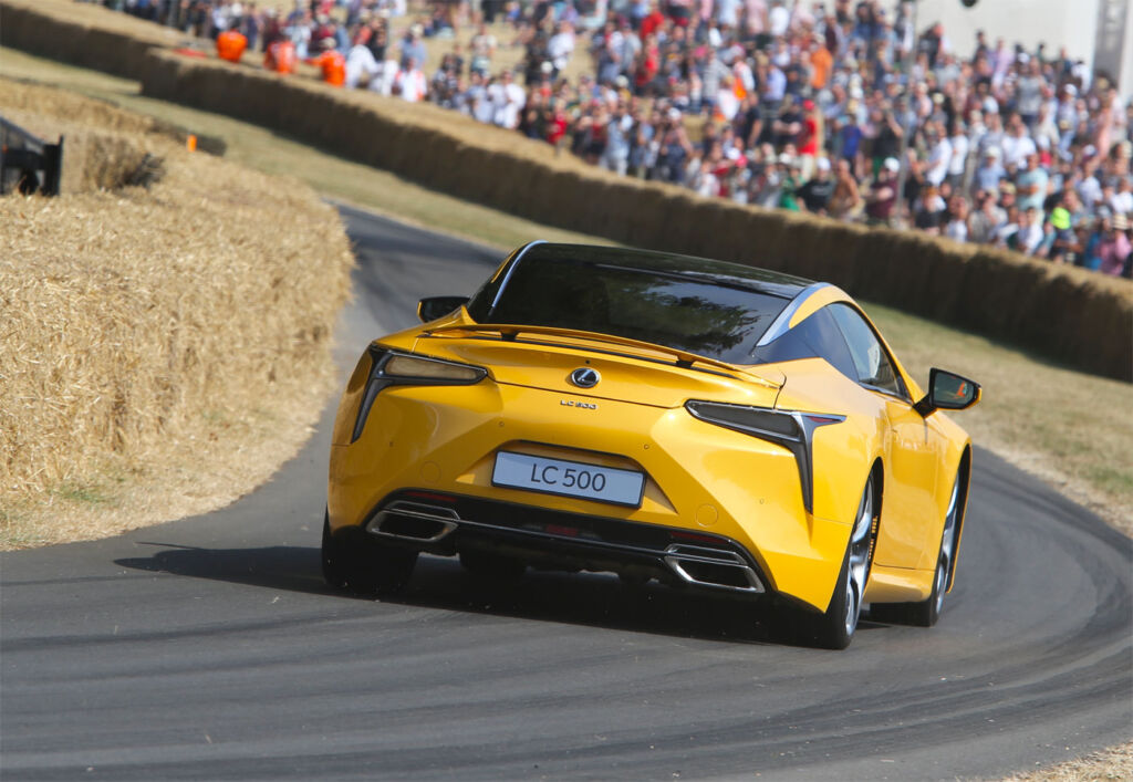 Luxury All The Way Up Goodwood's Renowned Hill With Lexus
