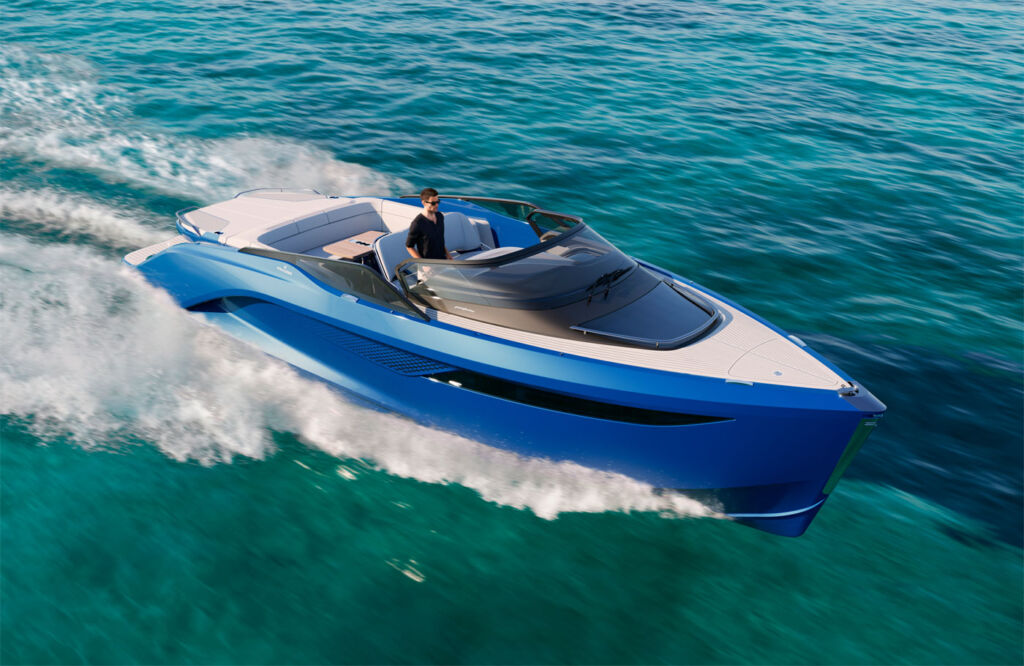 Princess Yacht's Revolutionary new R35 Sports Yacht