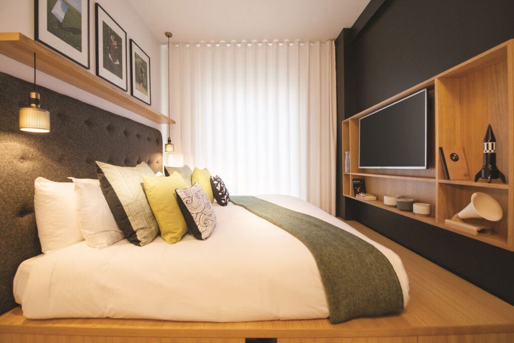 It's not a problem to get a good night's sleep at Wilde Aparthotels by Staycity
