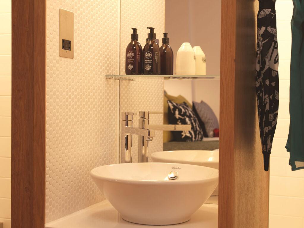 En-suite in the Wilde Aparthotels by Staycity