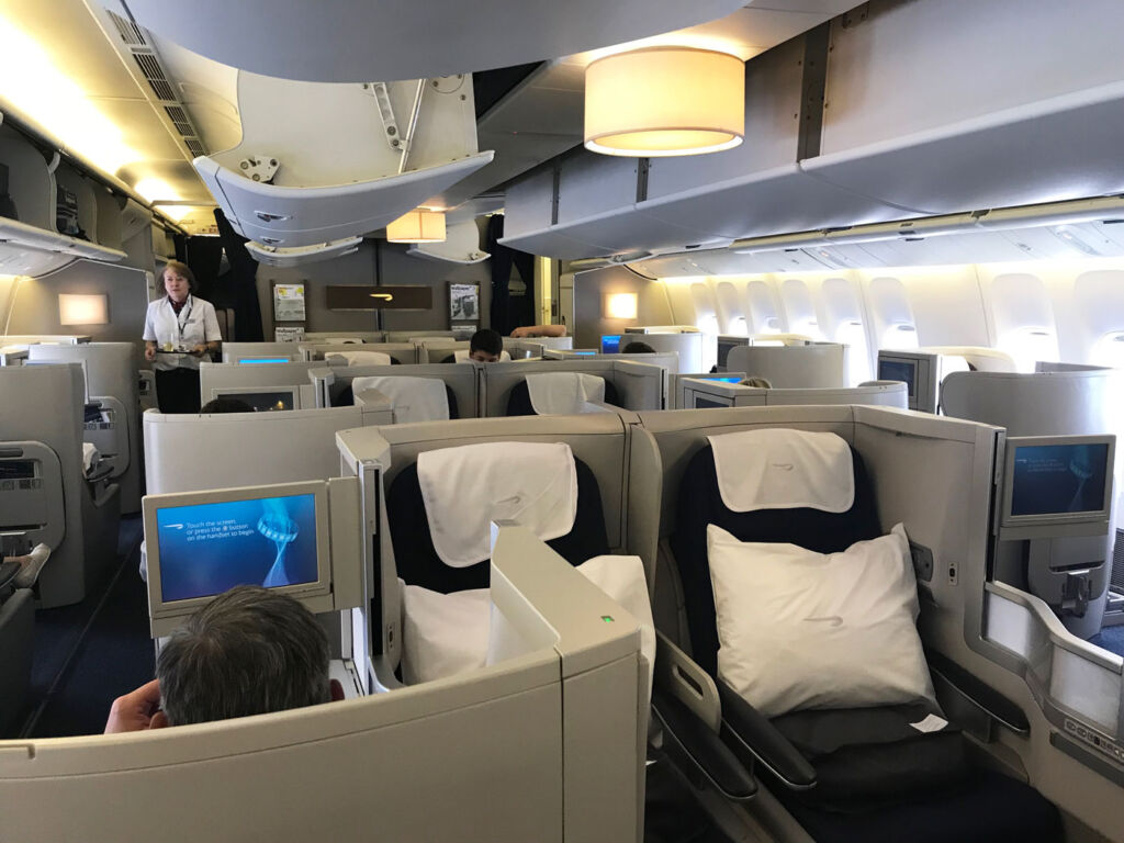 British Airways Club World Review - A Better Class Of Business 8