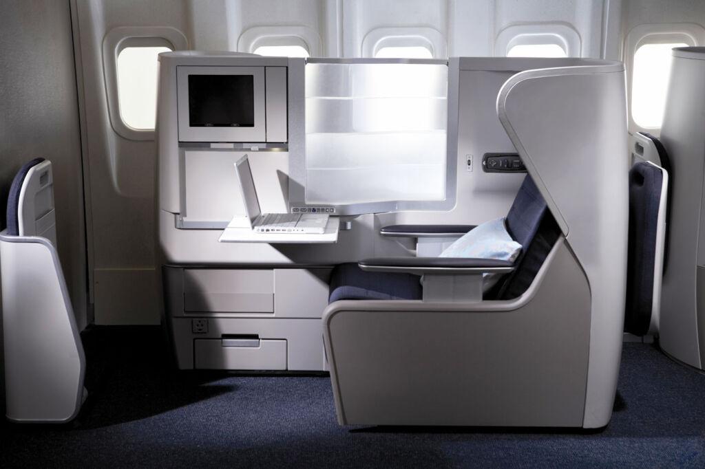 British Airways Club World seating