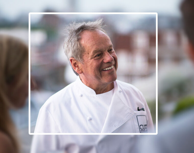 Celebrity Chef & Culinary Icon Wolfgang Puck In Conversation With Gina Baksa 9