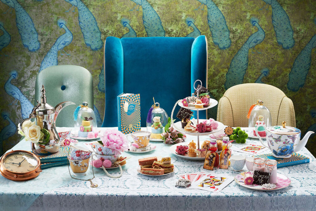 Alice In Wonderland Afternoon Tea Review At St James' Court