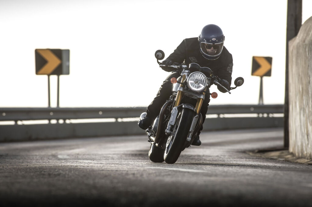 I thoroughly enjoyed my time riding the Thruxton R