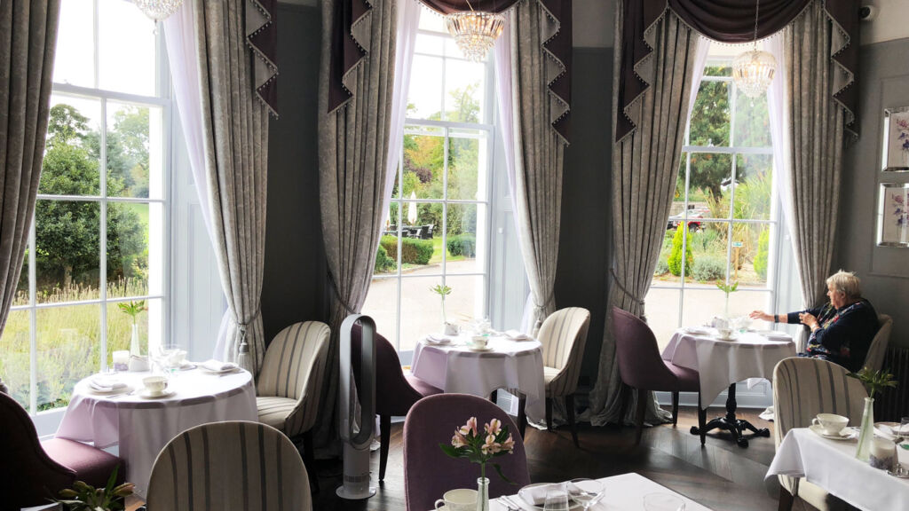 Luxury Dining In Laura Ashley The Tea Room At Burnham Beeches Hotel 6