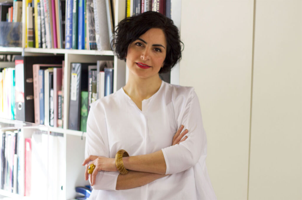 Catching Up On All Things Scarves With Designer Fariba Soltani