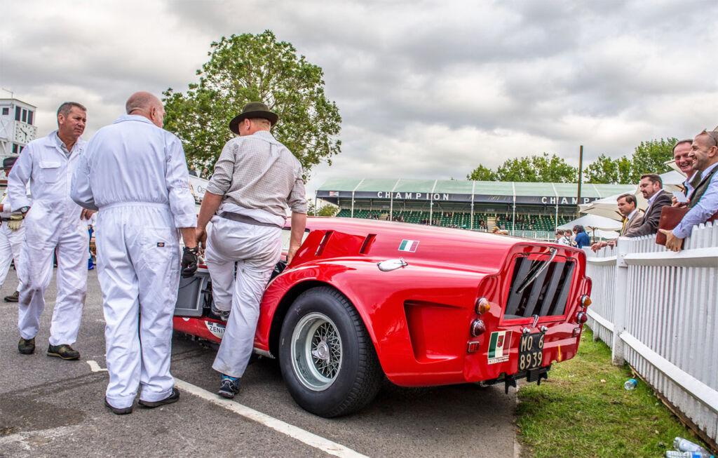 Unique Coachbuilt Ferrari Breadvan Hommage