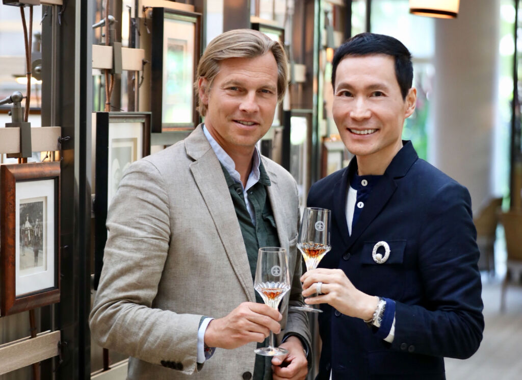 Ludovic du Plessis and Ong Chin Huat