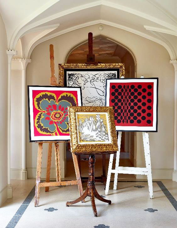 Richard Allan was a major name in the explosion of pattern and colour which defined the art and fashion of London in the 1960s