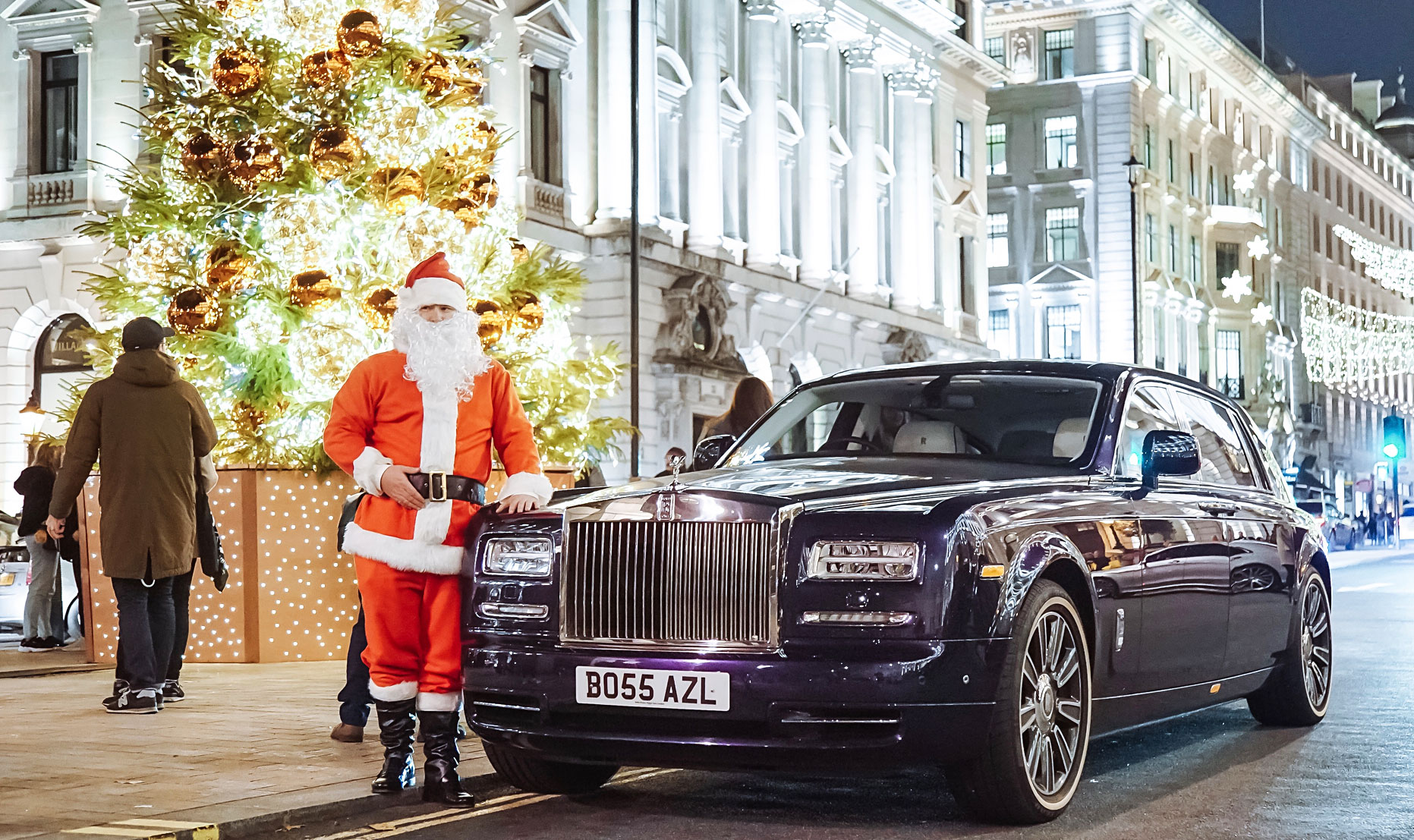 The Luxury A to Z of London in a Rolls Royce Phantom 11