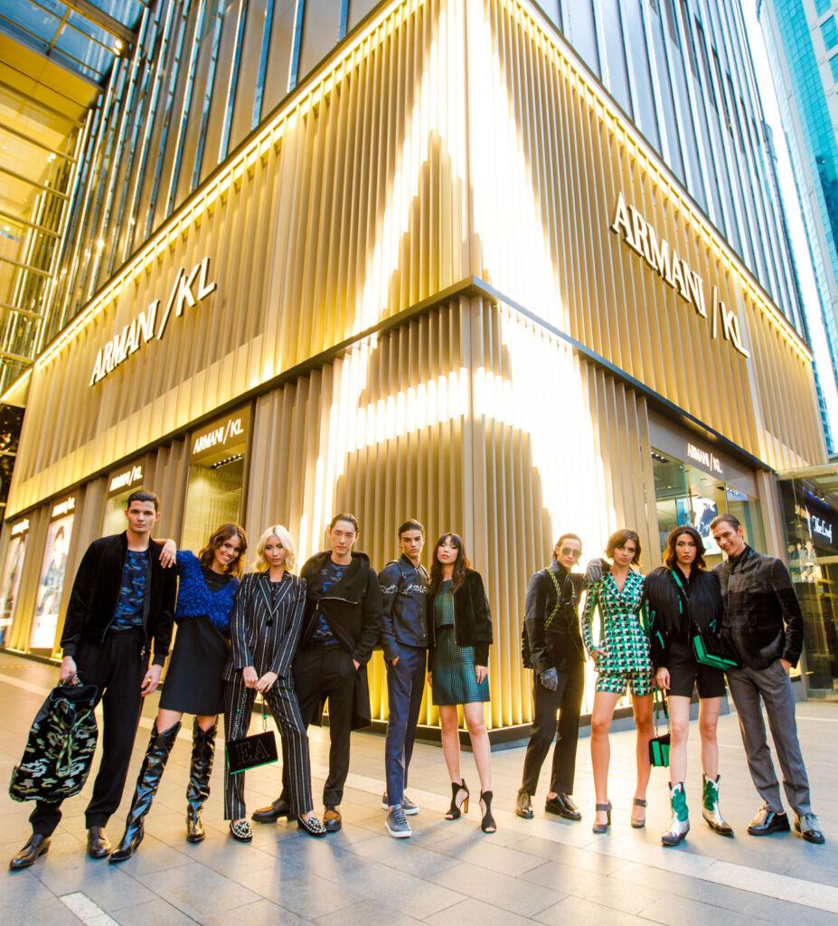 Armani/KL Opens to much Fanfare in Kuala Lumpur