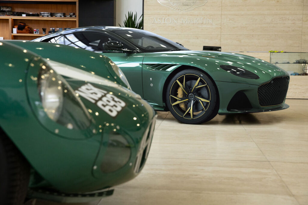 Aston Martin Cambridge Unveil Limited Edition Of 24 Cars To Celebrate '59 Le Mans Win