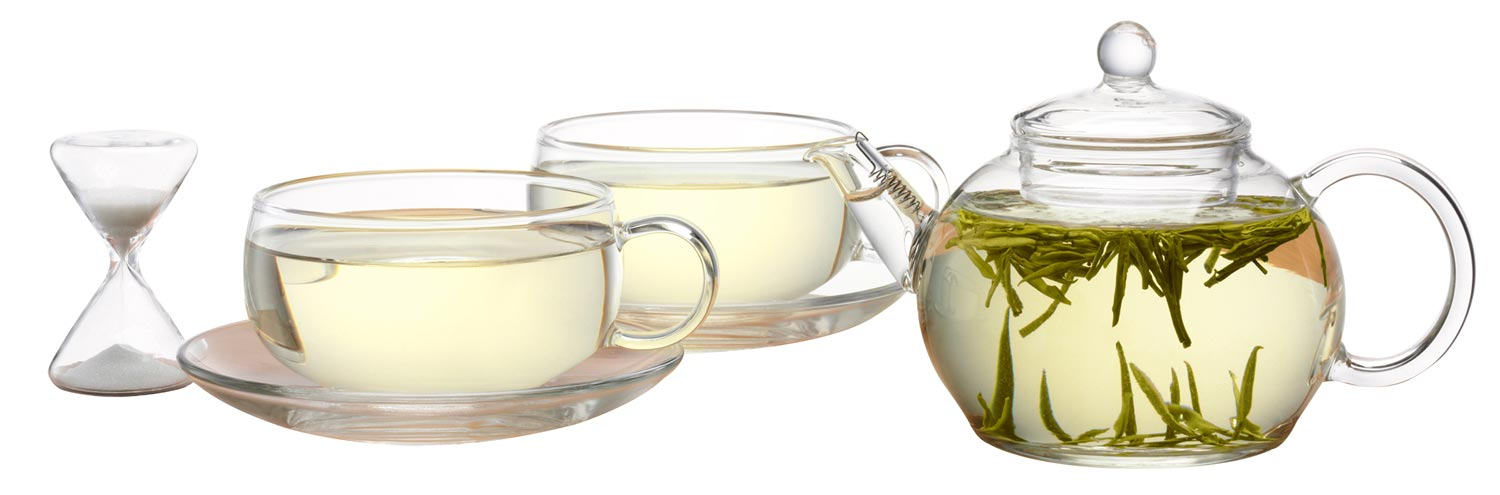 Luxurious Magazine Christmas Gift Idea: The JING Tea Two Cup Teapot Set 4