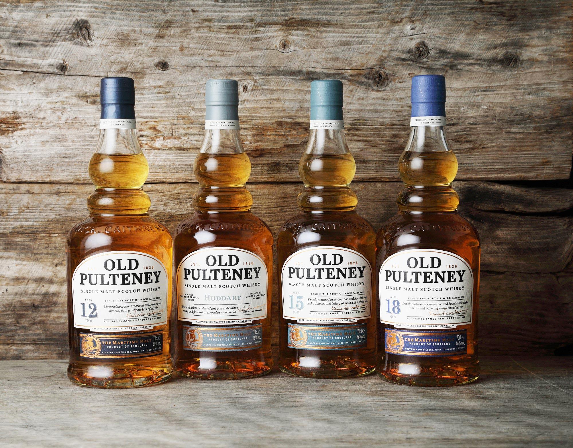 Old Pulteney's Maritime Malt Whiskies