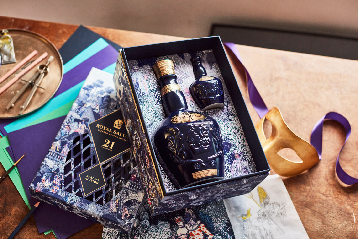 Royal Salute Unveils Masquerade Ball Gift Pack For The Festive Season 5