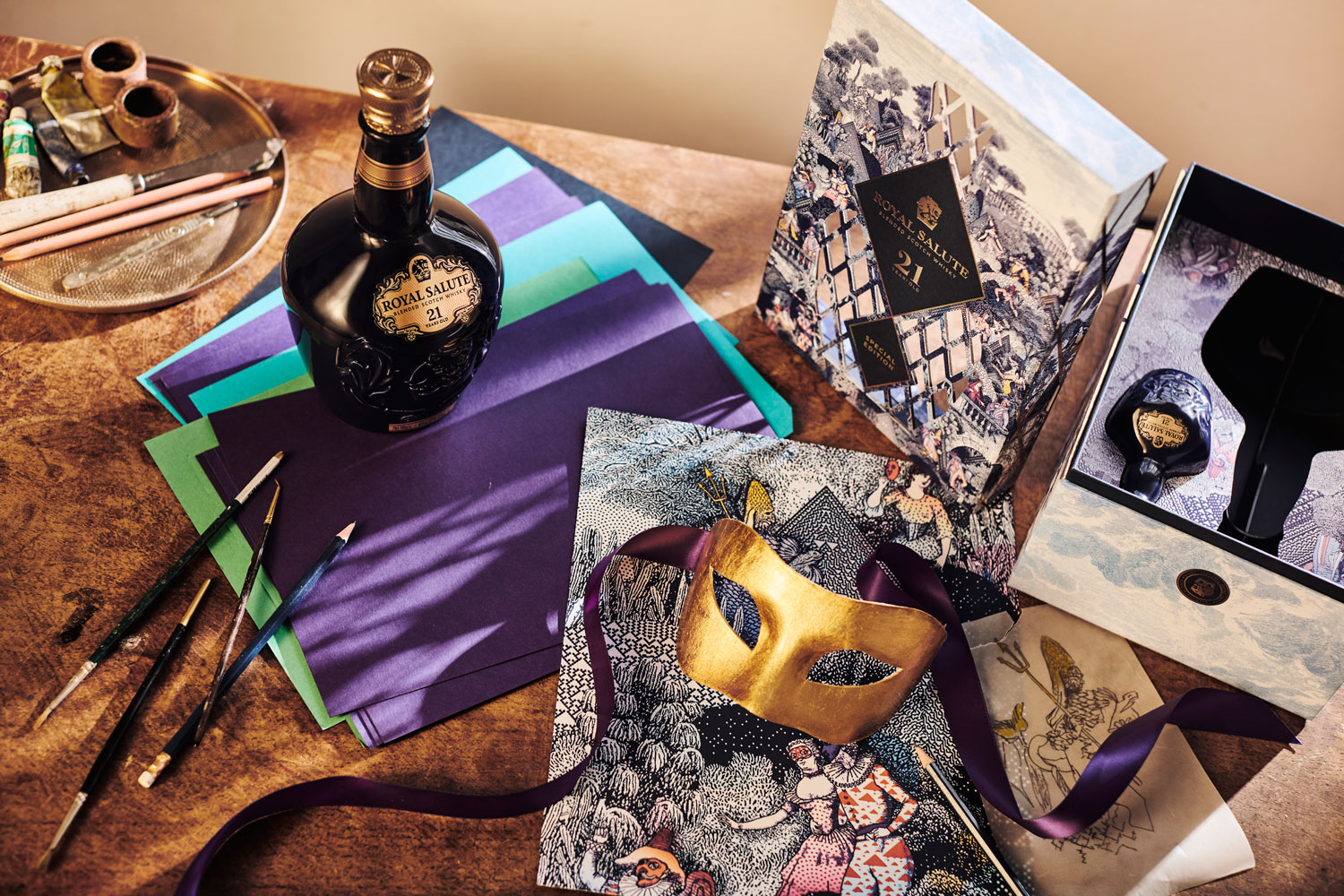 Royal Salute Unveils Masquerade Ball Gift Pack For The Festive Season 6
