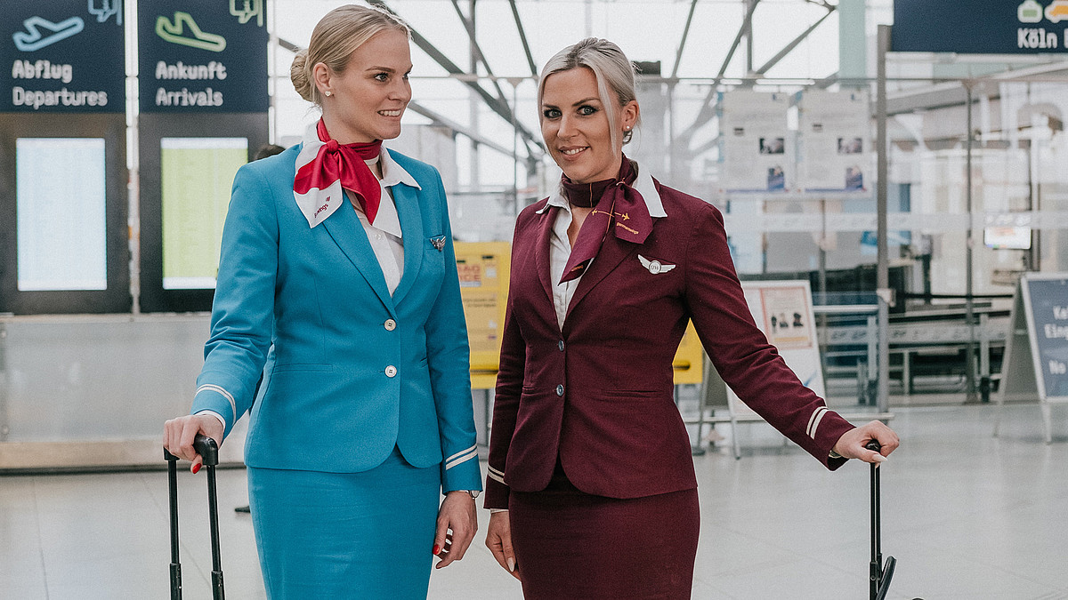 Eurowings Cabin Crew Turn The Air Blue - In A Good Way! 3