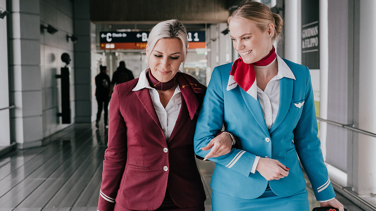 Eurowings Cabin Crew Turn The Air Blue - In A Good Way! 4
