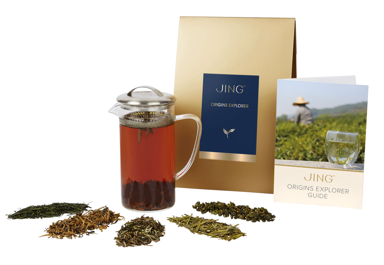 JING Tea Origins Explorer