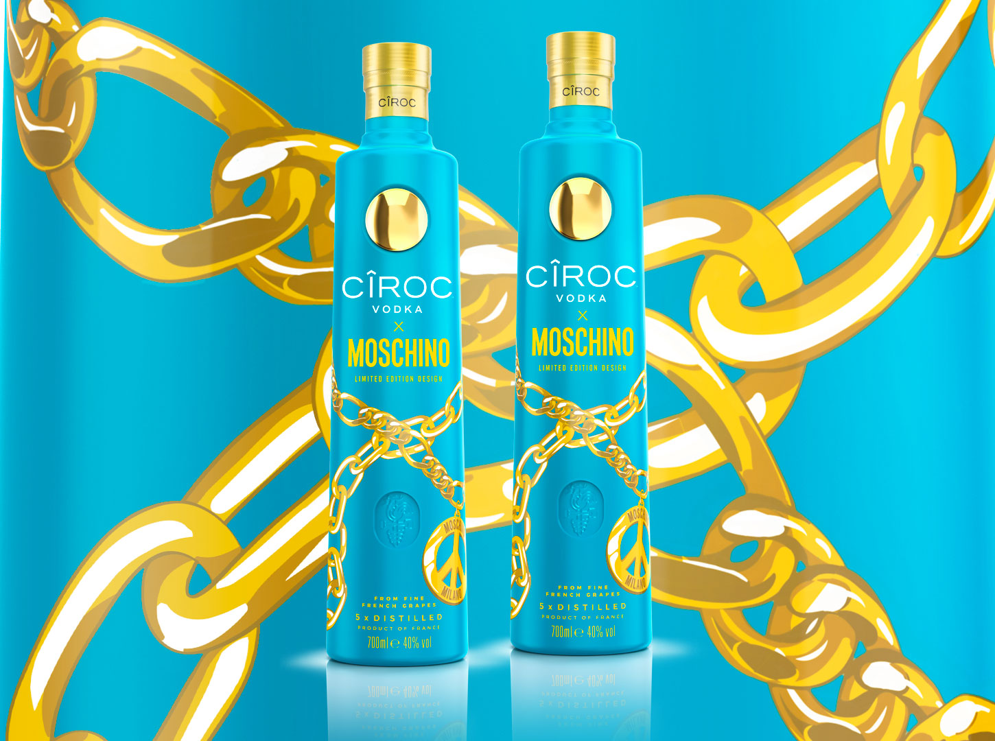 Limited Edition CÎROC X Moschino Vodka
