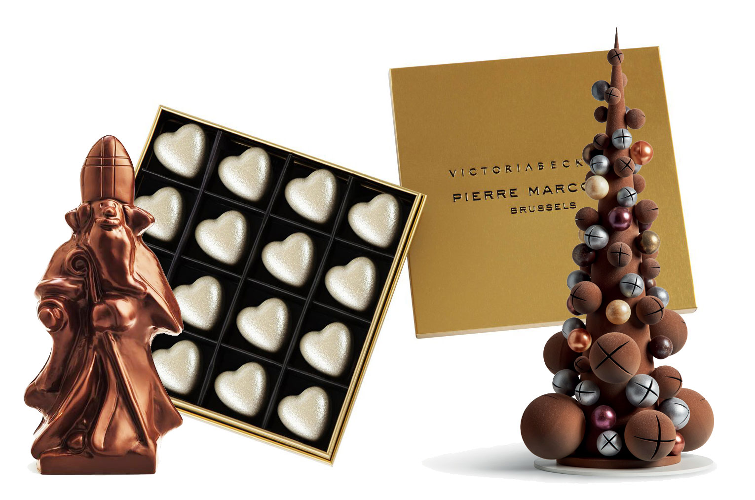 Pierre Marcolini Christmas Chocolates 2018
