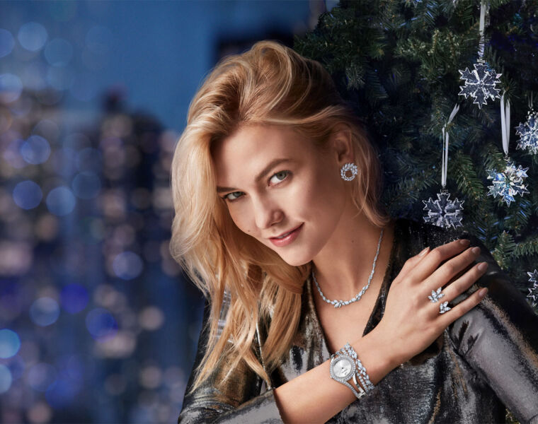 Dress to Impress and Shine with the Swarovski Christmas Collection 2018