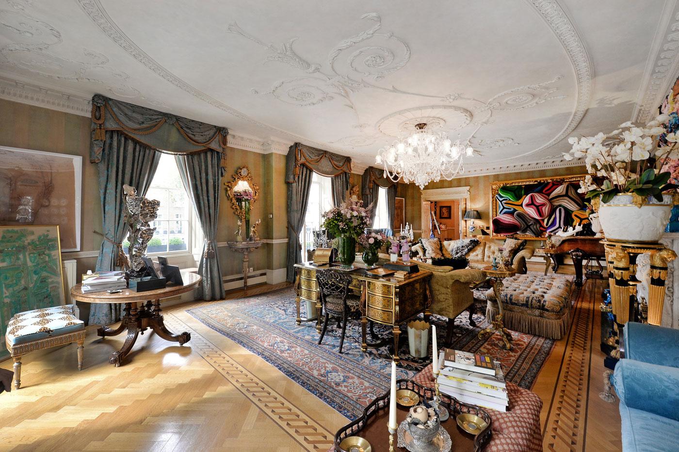 Belgravia's Finest Mega 2-house Mansion on the Market for £30 Million 3