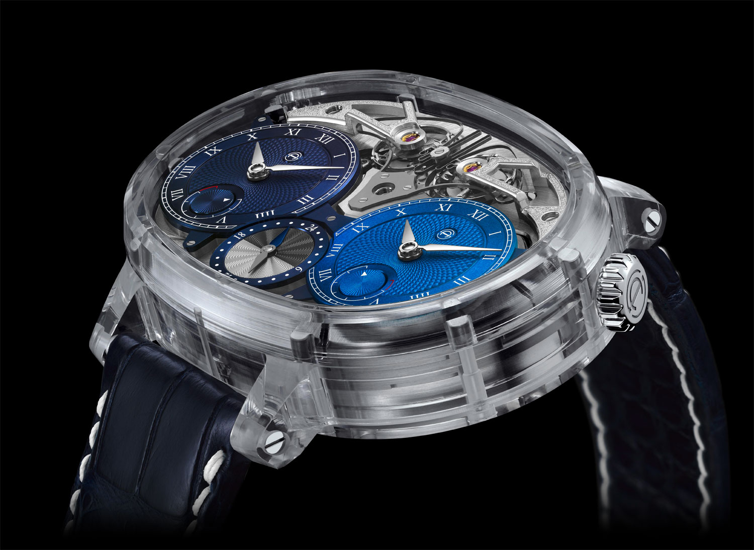 Maximum Horology: The Armin Strom Dual Time Resonance Sapphire