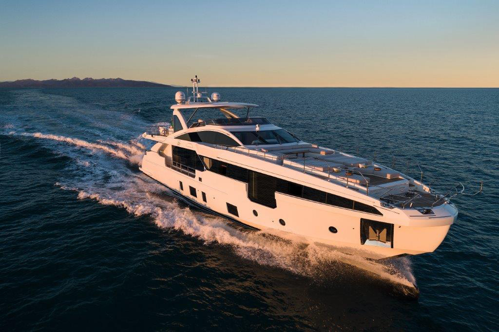 The Grande 32 Metri wins the Naval Architecture category at the Boat International Design & Innovation Awards