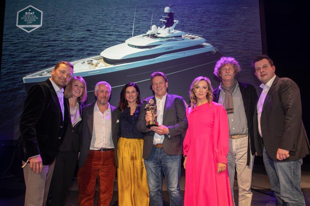 Azimut Grande 32 Metri Shines at the Boat International Design & Innovation Awards 5