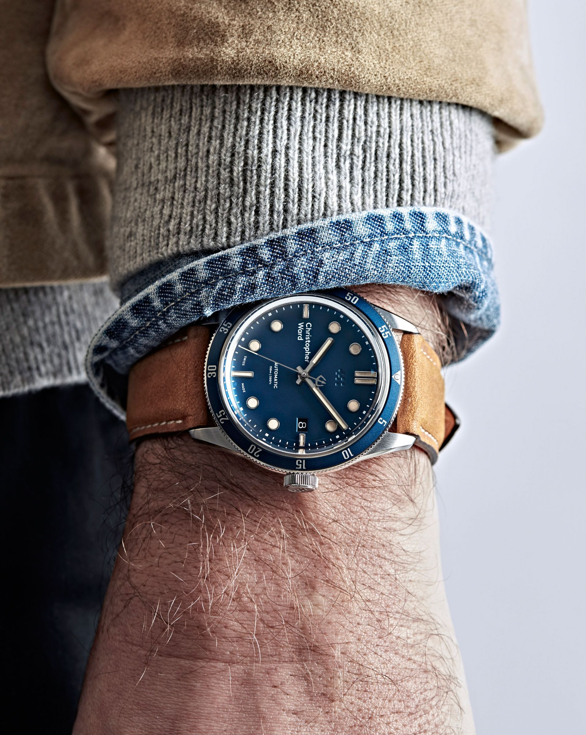 Christopher Ward's 60s Inspired C65 Trident Diver Automatic Timepiece 2