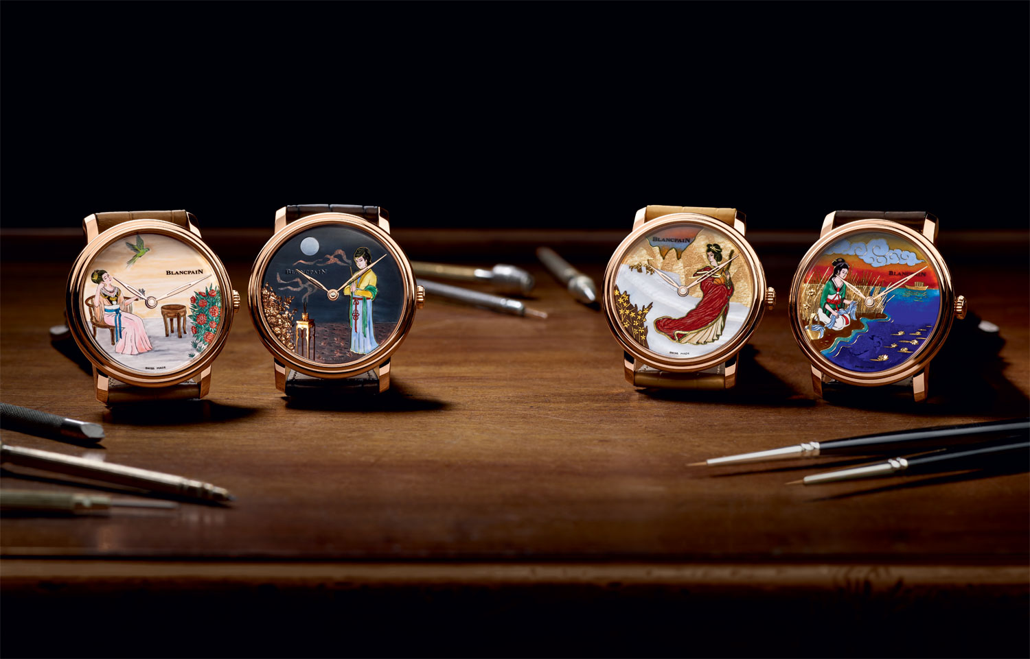 Métiers d'Art by Blancpain Turns It's Eyes Towards The Far East