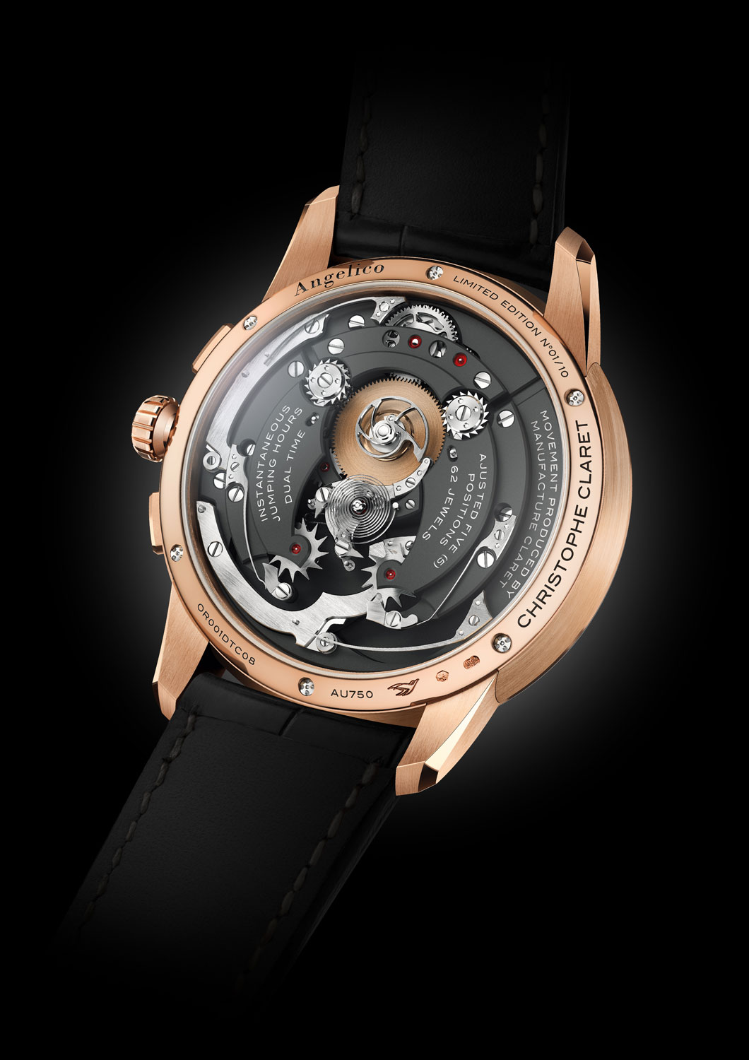 Christophe Claret Unveils A Horological First In The The Angelico Tourbillon 3