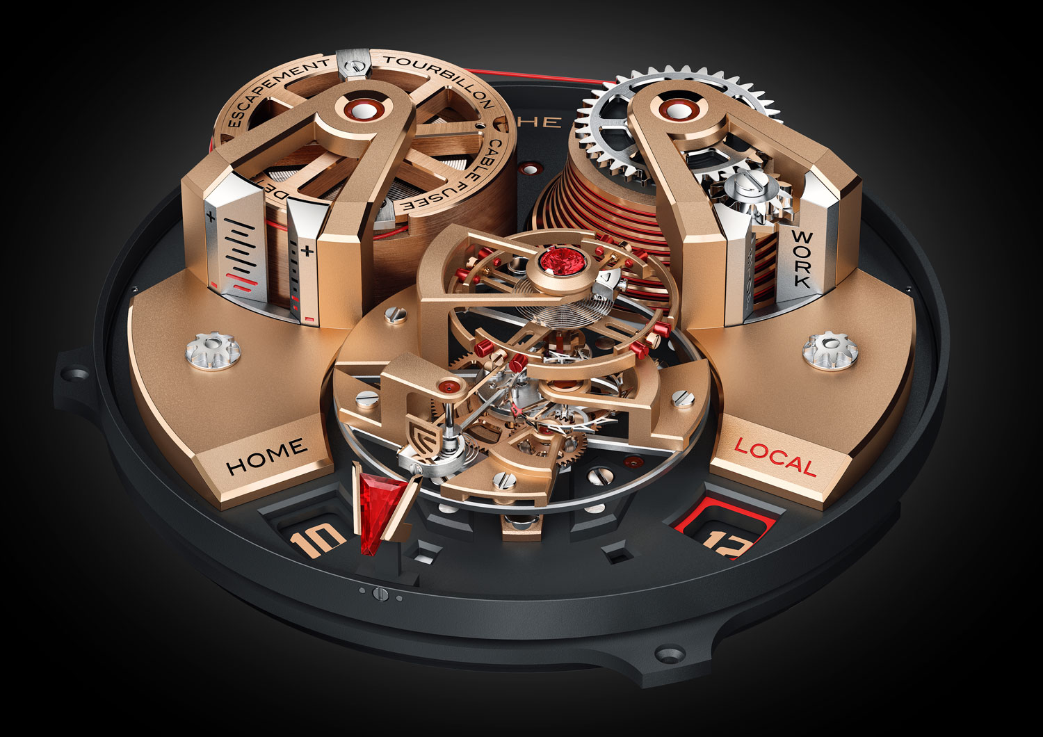 Christophe Claret Unveils A Horological First In The The Angelico Tourbillon 4